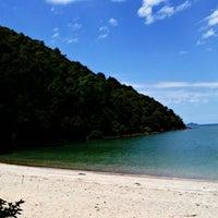 Photo taken at Fishing Bay Resort, Mersing by Bella L. on 6/8/2013