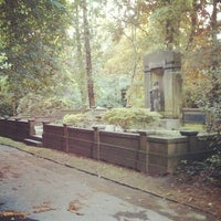 Photo taken at Ostfriedhof by Marc W. on 6/21/2013