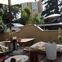 Photo taken at shırley cafe & butik by Nilay Ö. on 9/30/2013