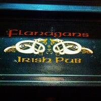 Photo taken at Flanagans Irish Pub by Stefan G. on 11/3/2012