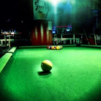 Photo taken at Galaxy Billiards Cafe by Michael R. on 12/30/2012