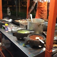 Photo taken at Tacos de Mexicaltzingo by JPablo S. on 11/29/2012