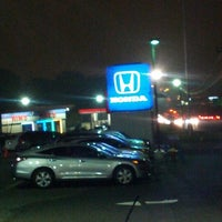 Photo taken at Garden State Honda Clifton by Marvin J. on 10/4/2012
