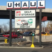 Photo taken at U-Haul Moving & Storage of Jersey City by Marvin J. on 11/23/2013