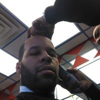 Photo taken at La Roca's Barber Shop by Marvin J. on 1/26/2013