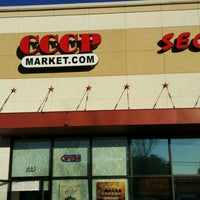 Photo taken at CCCP Market, INC by Fedor T. on 1/29/2016