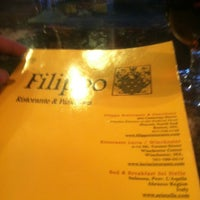 Photo taken at Filippo Ristorante by Timothy C. on 3/30/2013