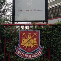 Photo taken at West Ham Utd Supporters Club by Cristina G. on 4/6/2014