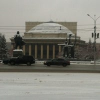 Photo taken at Площадь Ленина by Андрей Ю. on 11/19/2012