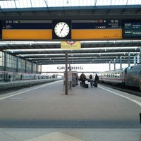 Photo taken at Munich Main Railway Station by Florian E. on 3/16/2013
