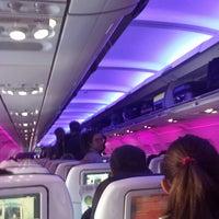 Photo taken at Virgin America Flight VX162 LAX-EWR by Camilo C. on 5/3/2014