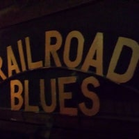 Photo taken at The Railroad Blues by Ali W. on 8/4/2013