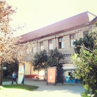 Photo taken at Escuela de Artes y Oficios Usach by Pablo D. on 3/14/2013