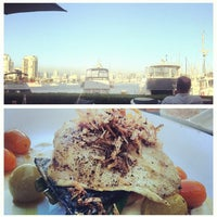 Photo taken at Dockside Restaurant by Agnès T. on 7/23/2013