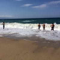 Photo taken at Mango Beach Bar by Pavlos Z. on 8/17/2014