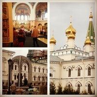 Photo taken at Воскресенский Новодевичий женский монастырь by Виктория L. on 5/5/2013