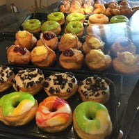 Photo taken at Dot Donuts by Omimah A. on 4/20/2014