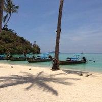 Photo taken at Phi Phi Island Village Beach Resort & Spa by Sylvie D. on 4/1/2013