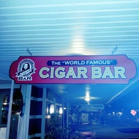 """Photo taken at The """"World Famous"""" Cigar Bar by Thomas G. on 11/29/2012"""