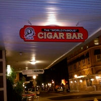"""Photo taken at The """"World Famous"""" Cigar Bar by Thomas G. on 10/11/2012"""