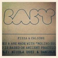 11/17/2012에 Jonas B.님이 Baby Pizza에서 찍은 사진