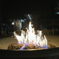 Photo taken at Festive Fireplace at Ghirardelli Square by Eleanor W. on 1/23/2013