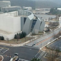 Photo taken at Cobb Energy Performing Arts Centre by Kristin on 1/28/2013
