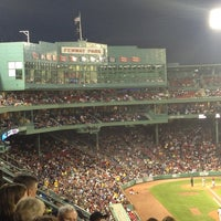 Photo taken at Fenway Park by Aaron D. on 6/19/2013