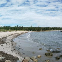 Photo taken at Hubbards Beach Flagpole by Luiz Cláudio L. on 8/13/2016