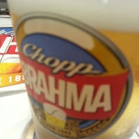 Photo taken at Quiosque Chopp Brahma by Gianniny M. on 1/25/2013