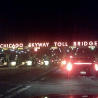 Photo taken at Chicago Skyway by Theresa C. on 11/20/2012