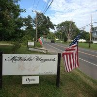 Photo taken at Mattebella Vineyards by Kevin W. on 8/10/2013