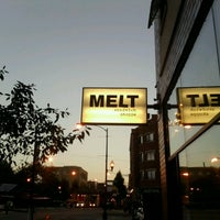 Photo taken at Melt Sandwich Shoppe by Eddie J. on 9/19/2012