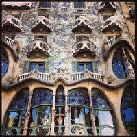 9/3/2013에 Benjamin F.님이 Casa Batlló에서 찍은 사진