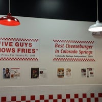 Photo taken at Five Guys by Michael F. on 1/11/2014