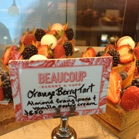 Photo taken at Beaucoup Bakery by Stephanie H. on 7/26/2013