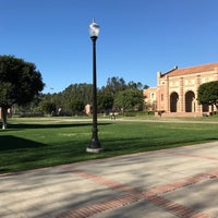 Photo taken at UCLA Wilson Plaza by Taylor Z. on 12/19/2016