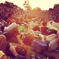 Photo taken at Sidney Myer Music Bowl by meetoo on 2/16/2013