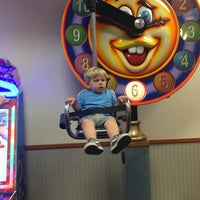 Photo taken at Chuck E. Cheese's by Paula S. on 4/22/2016