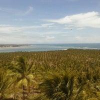 Foto tirada no(a) Mirante da Praia do Gunga por Izabella C. em 1/3/2013