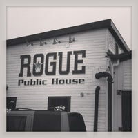 Photo taken at Rogue Ales Public House by Bailey B. on 12/29/2012