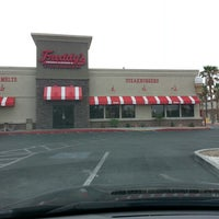 Photo taken at Freddy's Frozen Custard & Steakburgers by Elliot H. on 5/5/2013