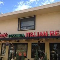 Photo taken at Big Louie's Pizzeria by Frank Vigliotti @. on 1/23/2013