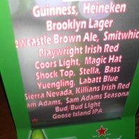 Photo taken at Playwright Irish Pub by Yssa N. on 2/17/2013