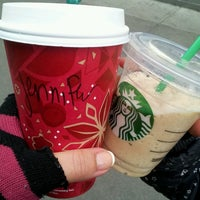 Photo taken at Starbucks by Jenny Q. on 11/12/2013