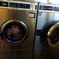 Photo taken at Four Seasons Wash N' Dry by Dina Q. on 8/30/2016