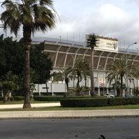 Photo taken at Estadio La Rosaleda by Antonio J. S. on 2/11/2013