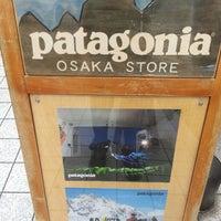 Photo taken at patagonia 大阪 by taroパパ on 11/9/2013