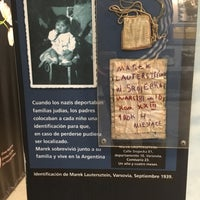 Photo taken at Museo del Holocausto-Shoá Buenos Aires by Camilo O. on 6/25/2017