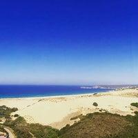 Photo taken at Spiaggia Torre dei Corsari by Daniel D. on 8/28/2016